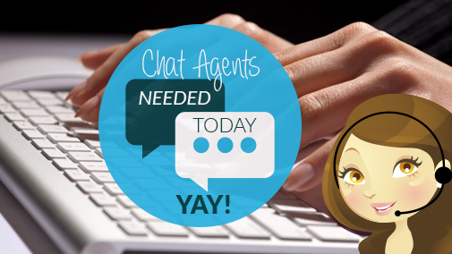 Chat Agents Needed Today, Yay!