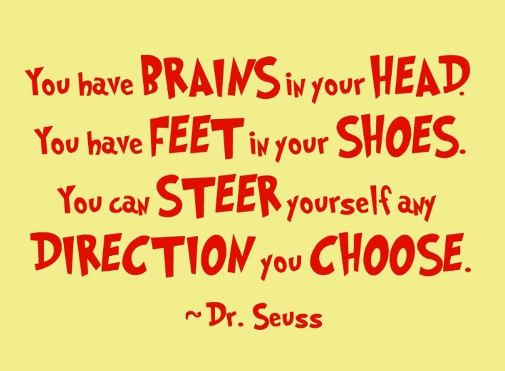 Motivation Friday A Quote By Dr Seuss Girlicity Girlicity
