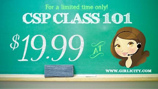CSP Class 101